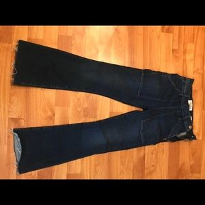 Flare cropped Frame jeans size 23!!